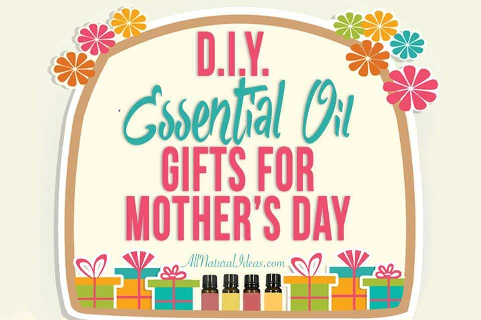 Are you scrambling for a last minute gift for mom or another special lady in your life? Check out this list of awesome DIY essential oil gifts. | allnaturalideas.com