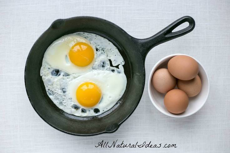 egg fast diet meal