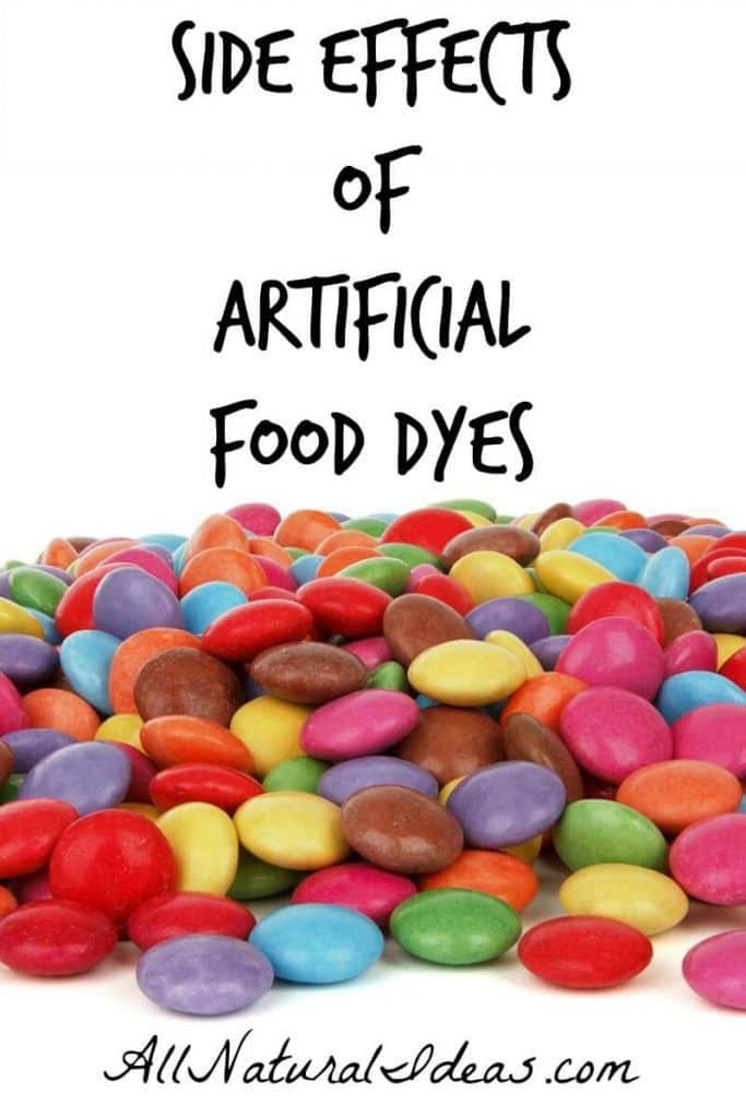 Are you aware of all the artificial red 40 side effects? Eating all natural whole foods are the best way to avoid these harmful food additives. | allnaturalideas.com