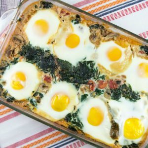BUNSEN BURNER BAKERY baked-eggs-in-spinach-IMG_2647