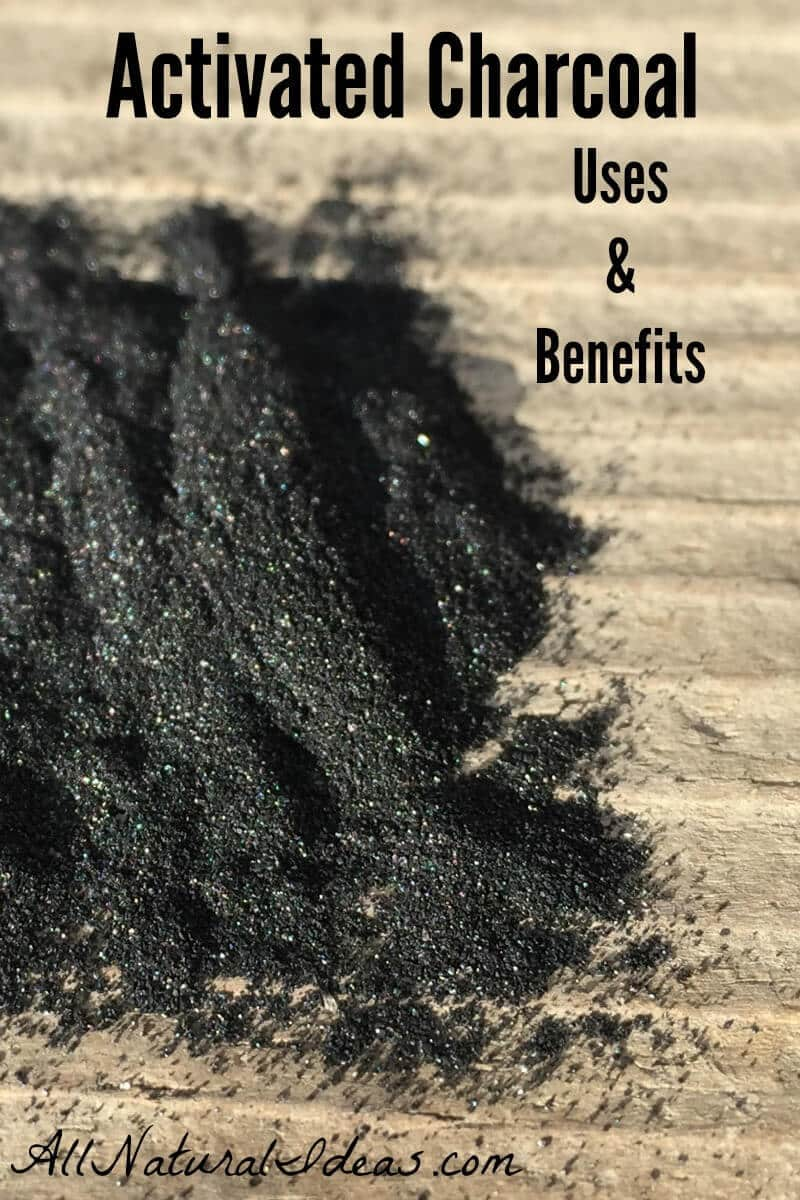 Activated charcoal is often used to detoxify the body. But, this all natural powder can be used in other ways. What are the activated charcoal uses? | allnaturalideas.com