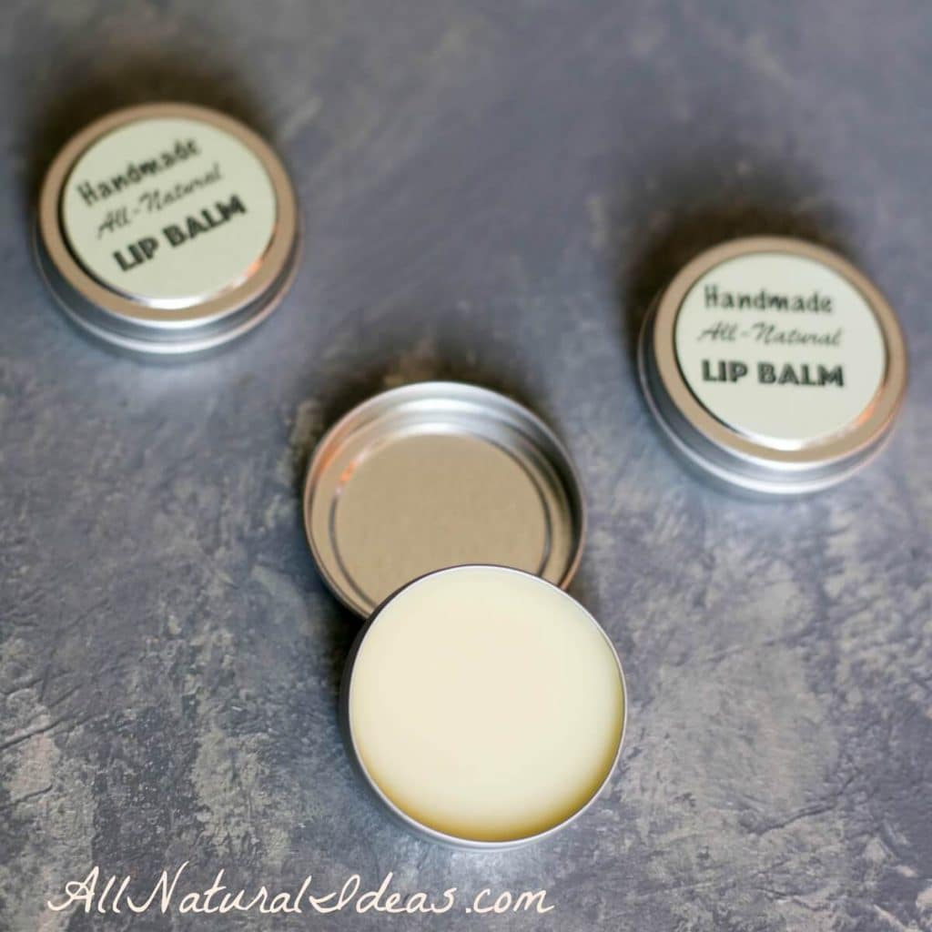 how to make your own lip balm with essential oils