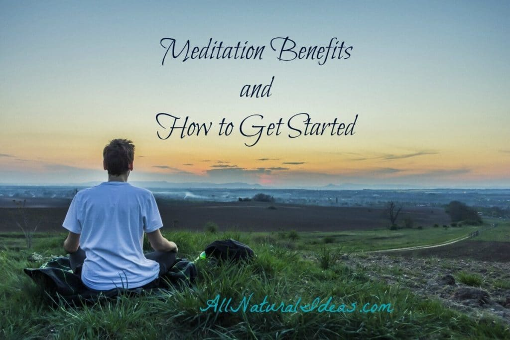 Relaxation and improved mood are two of the many meditation benefits. Find out what meditation can do for you and how to get started. | allnaturalideas.com