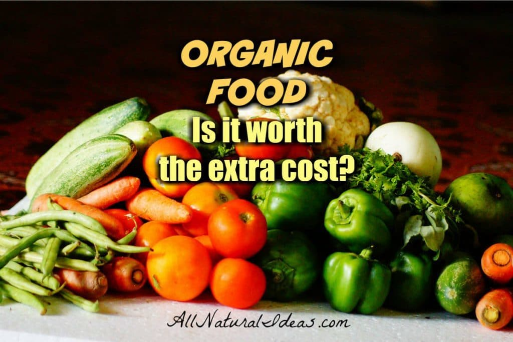 Is The Cost Of Organic Food Worth It