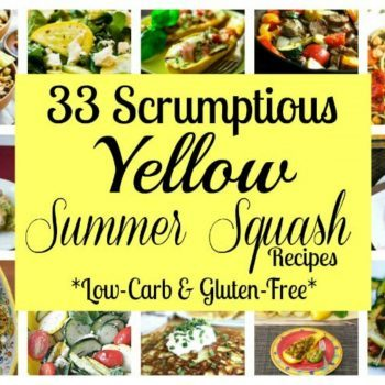 Low carb yellow summer squash recipes