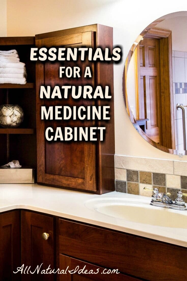 With so many medicinal herbs, it's tough to figure out which ones to always have on hand. Come what natural medicine cabinet essentials we keep in stock. | allnaturalideas.com