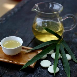 Bamboo leaf tea benefits hair nails