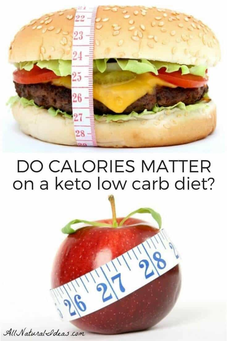 Do calories matter on keto diets?