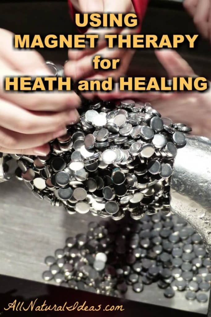 Health and healing using magnet therapy