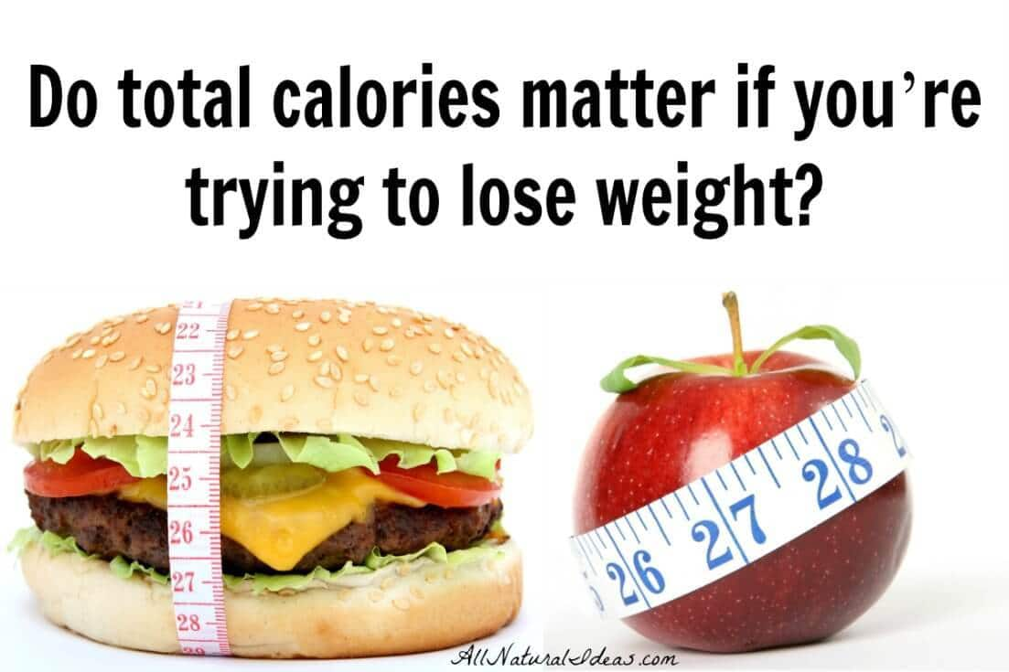 How many calories are needed to lose weight? And, how important are daily calories for weight loss? Let's examine how much calories matter in a diet.