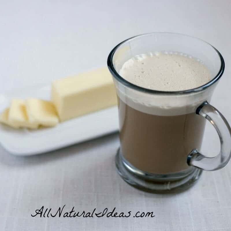 Butter in Coffee Recipe for Weight Loss