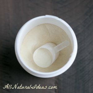 Whey protein powder side effects