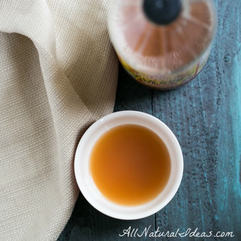 Apple Cider Vinegar Acne Treatment and Drink