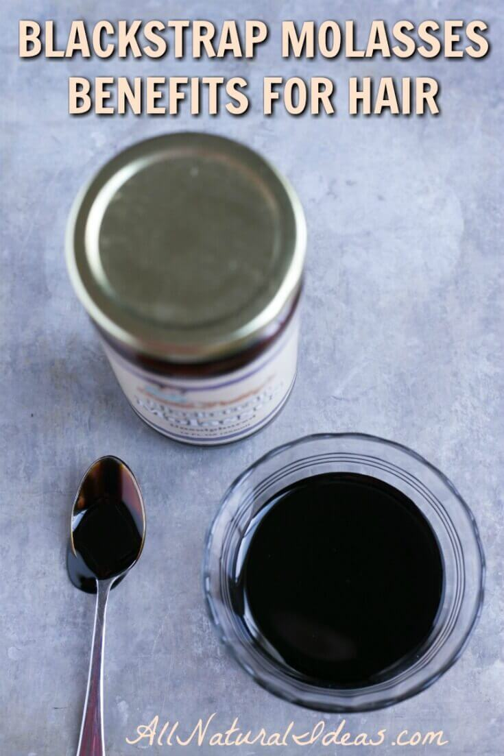 Blackstrap molasses may be healthy for you inside and out. And, there may be blackstrap molasses hair benefits that combat hair loss. | allnaturalideas.com