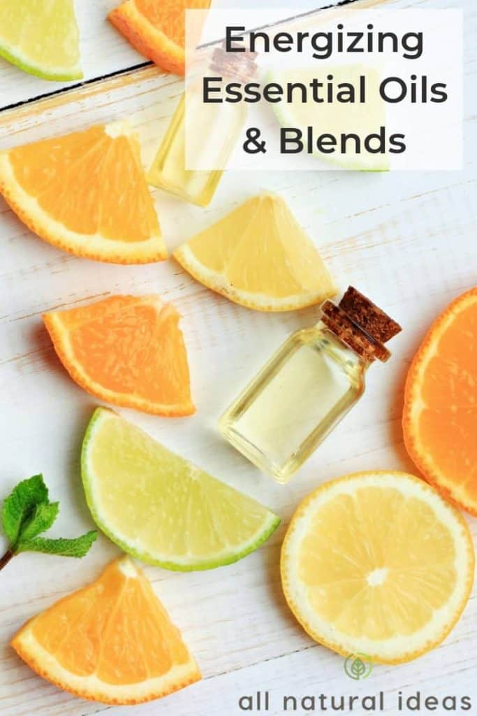 energizing essential oils and blends
