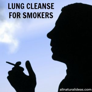 Natural lung cleanse for smokers