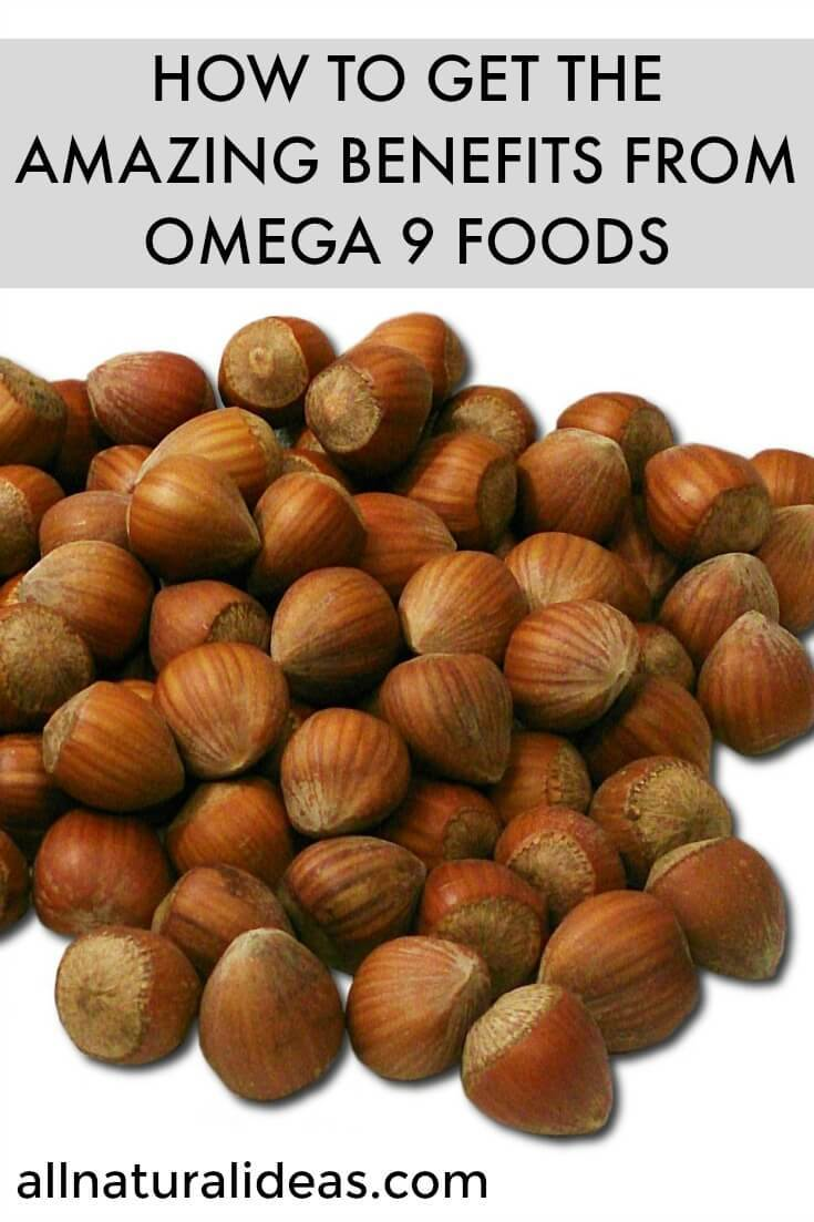 Benefits of omega 9 foods