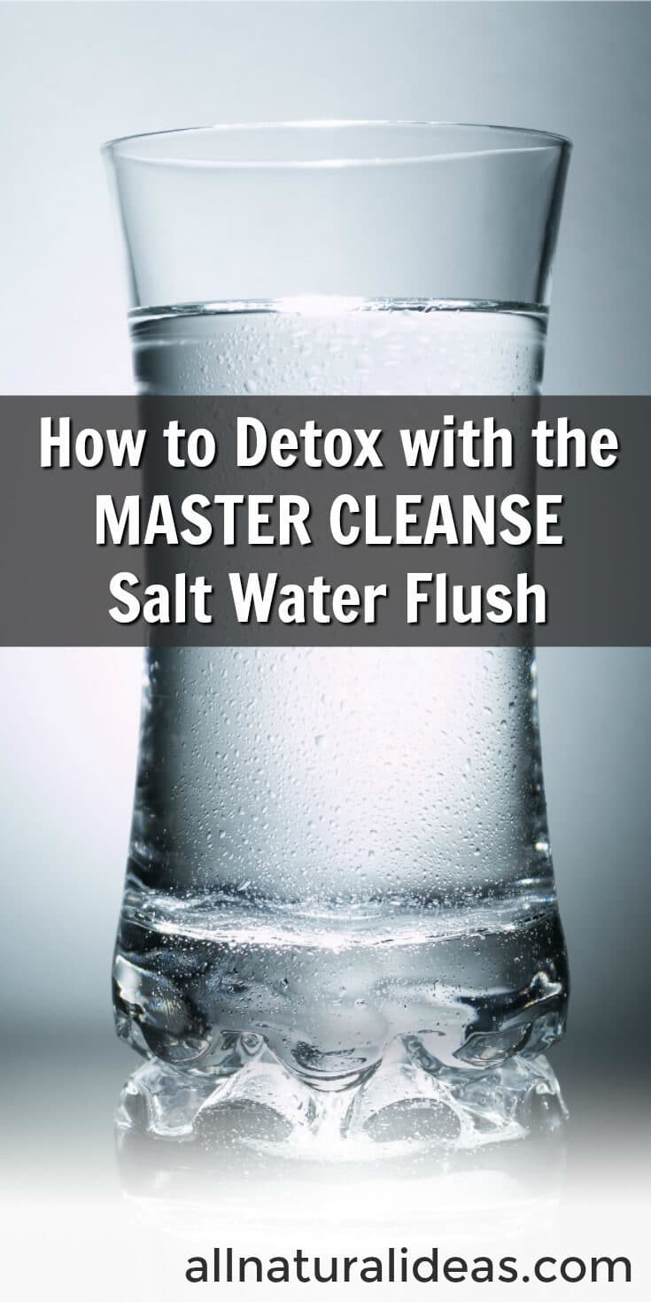 Problems pooping? Constantly constipated? Difficulty defecating? Then consider doing a Master Cleanse salt water flush! It's easy and effective.