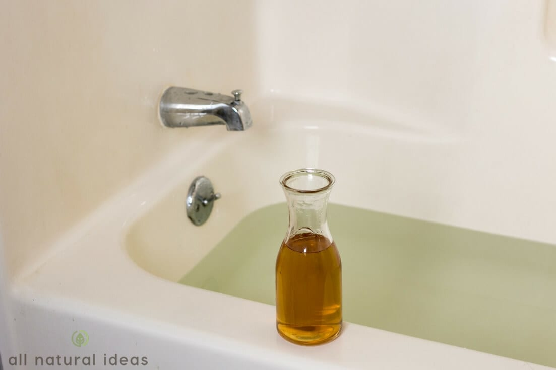apple cider vinegar bath for UTI