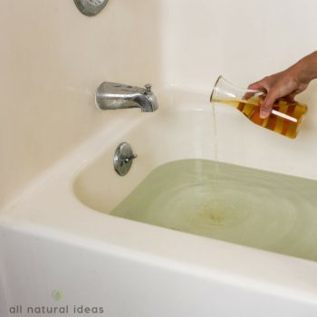 Using an Apple Cider Vinegar Bath for UTI Treatment