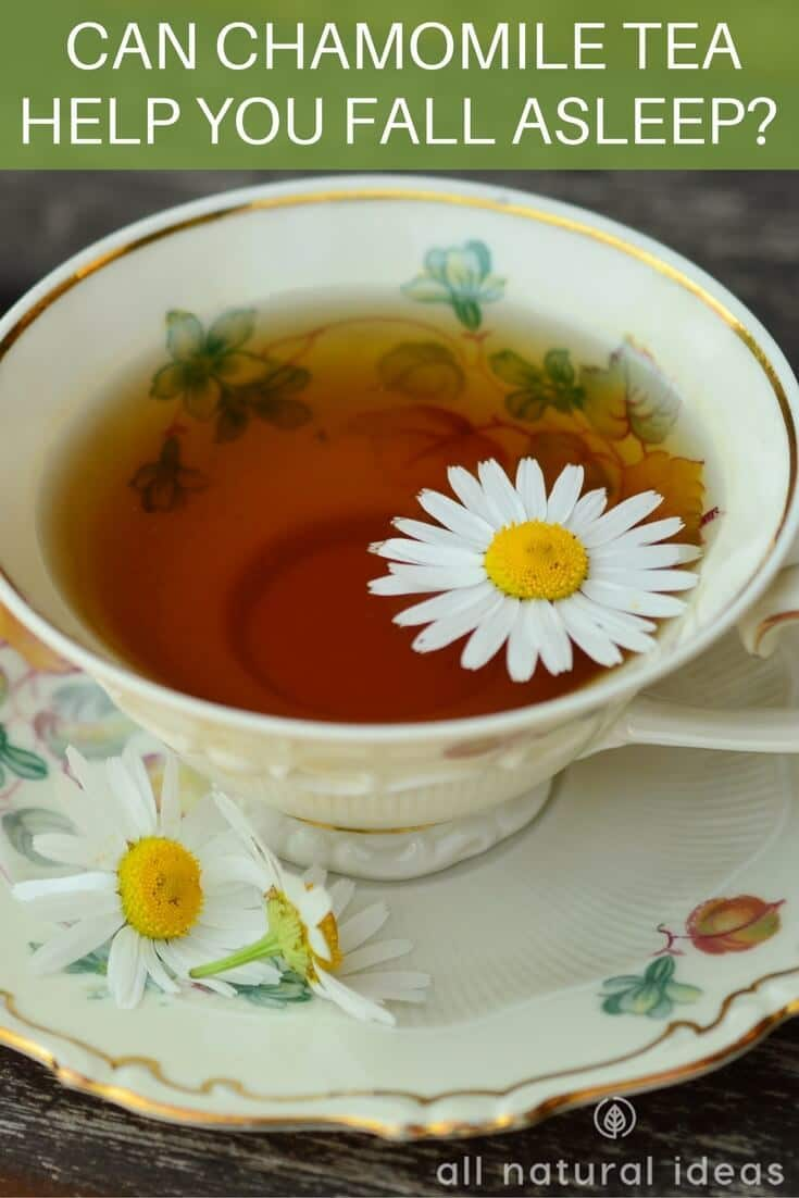 does the chamomile tea sleep remedy really help you fall asleep