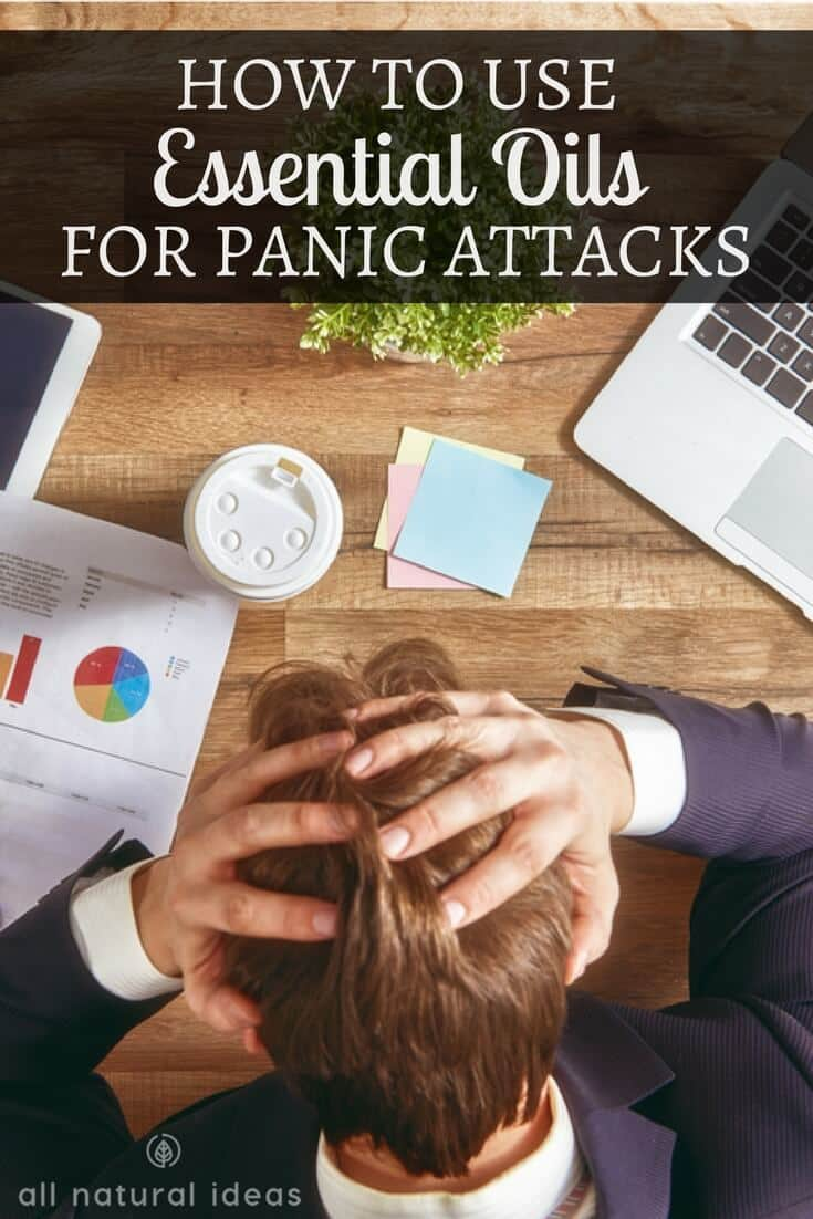 How to use essential oils for panic attacks