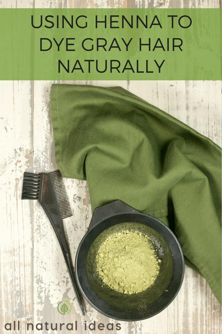Using Henna Hair Dye For Gray Hair To Color Naturally All Natural