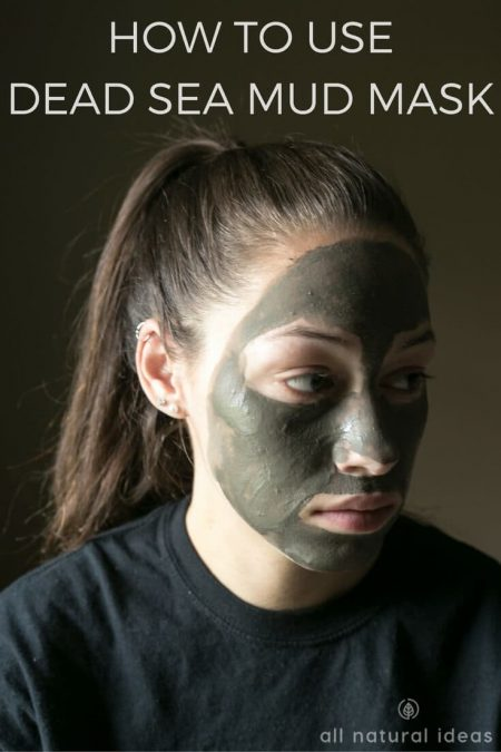 Here's how to use dead sea mud mask