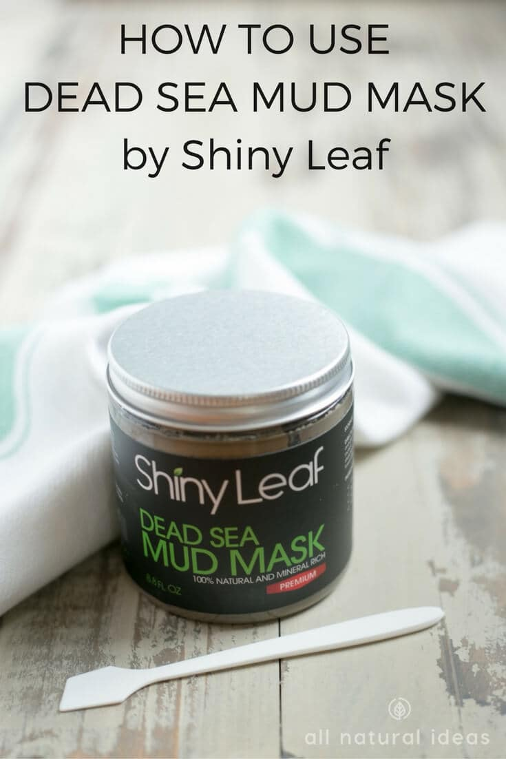 Want to know how to use Dead Sea Mud mask for healthier skin? It's a simple process that can be used every day to deep clean pores and nourish skin. | allnaturalideas.com
