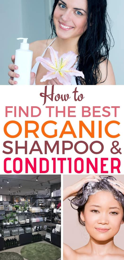 Using the best organic shampoo and conditioner may prevent health problems that are the result of overexposure to harsh chemicals. But products labeled as all natural may not always be 100% pure. #shampoo #shampooing #shampoonatural #conditioner #hair #hairbeauty  | allnaturalideas.com