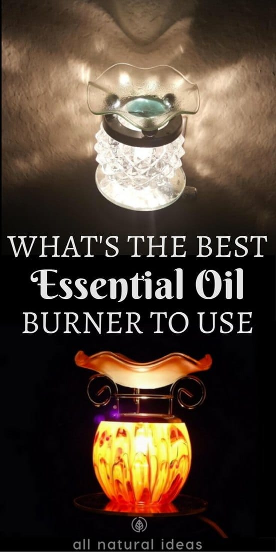 Essential oils are one of the best natural substances for boosting health and elevating mood. But what's the best essential oil burner method? | allnaturalideas.com