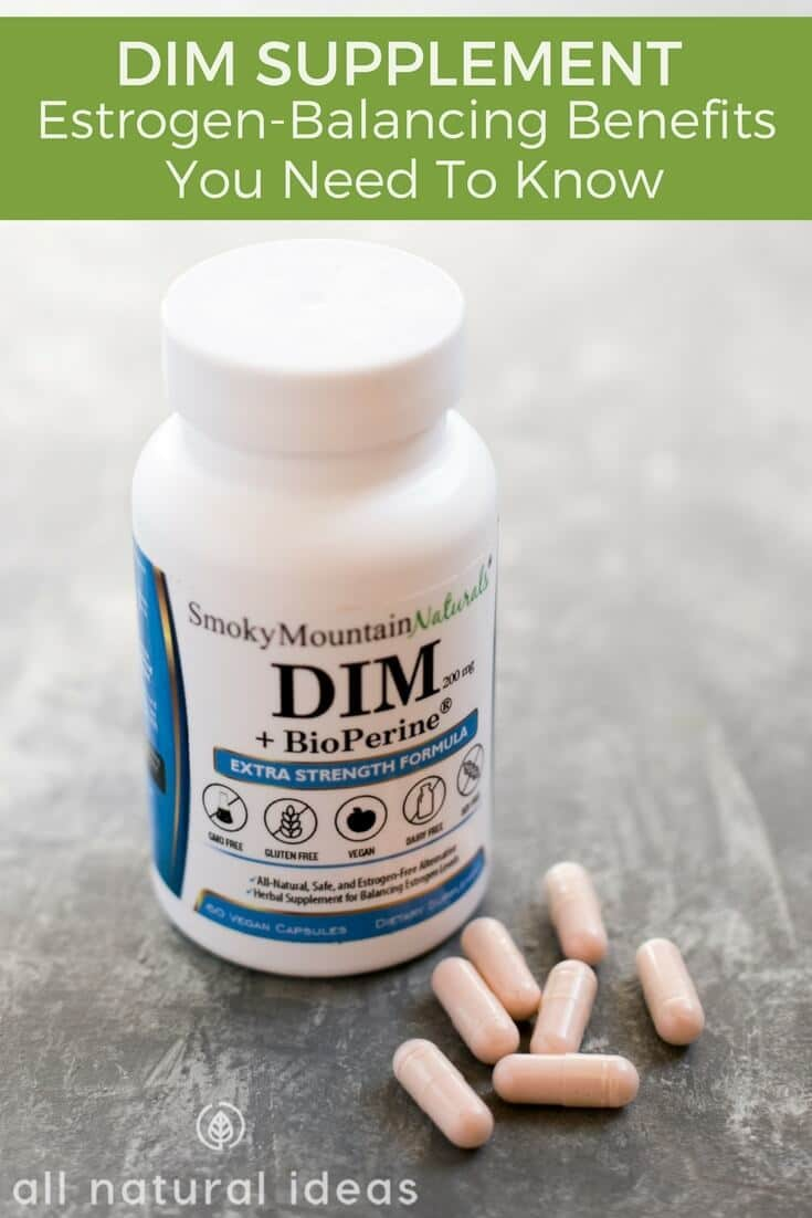 What are the DIM supplement benefits?