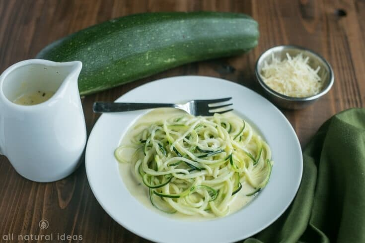 How to make zoodles - spiralized zucchini