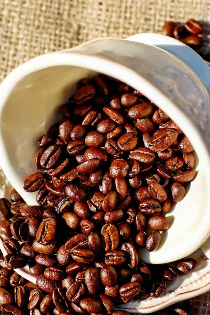 Coffee oil for skin benefits