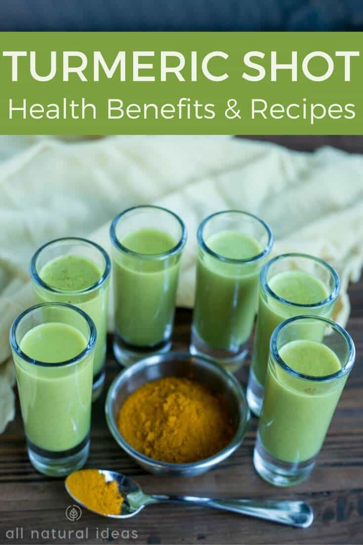 Turmeric shot health benefits and recipes