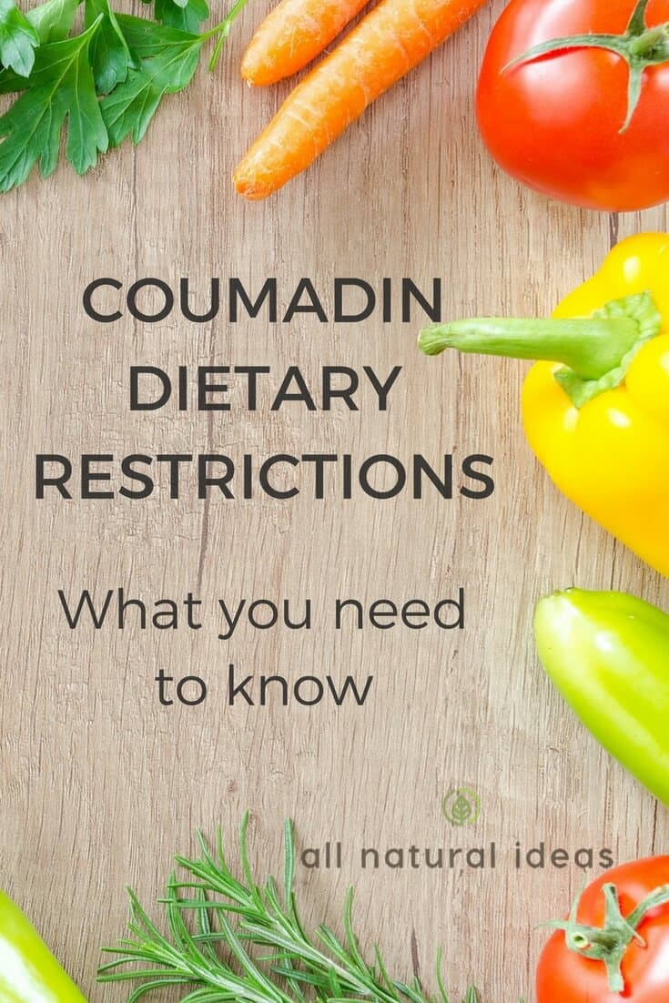 Coumadin diet restrictions: What you need to know