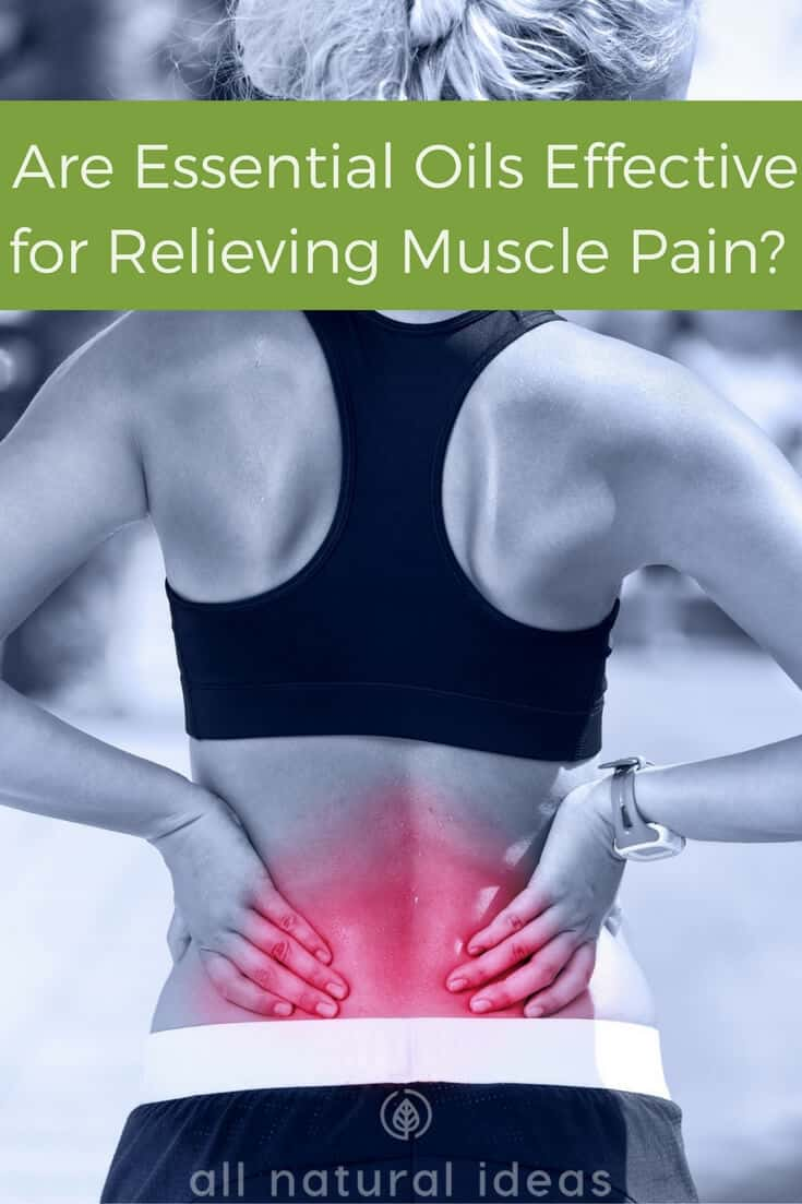 Are essential oils effective for muscle pain?