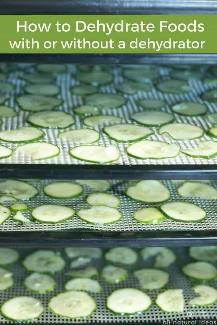 How to dehydrate meats, vegetables, and other foods
