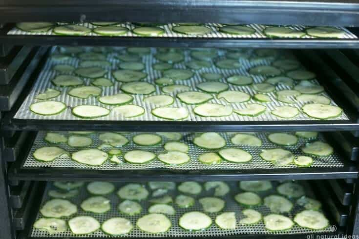 How to dehydrate meats, vegetables