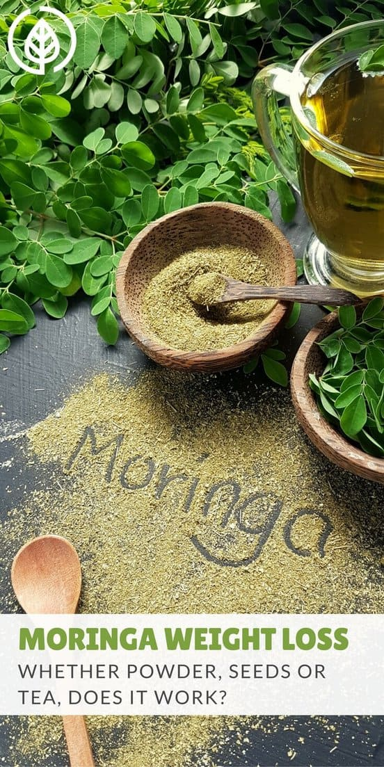 Moringa weight loss teas, pills and powders have become a popular all-natural remedy. But does moringa really work if you're trying to lose weight? #weightloss #moringa #allnatural | allnaturalideas.com