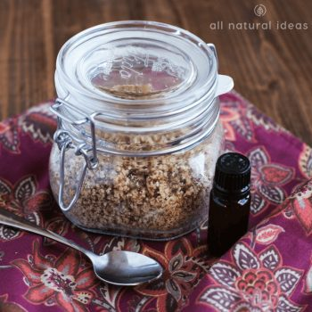 Almond Facial Scrub Recipe – Easy DIY Skincare
