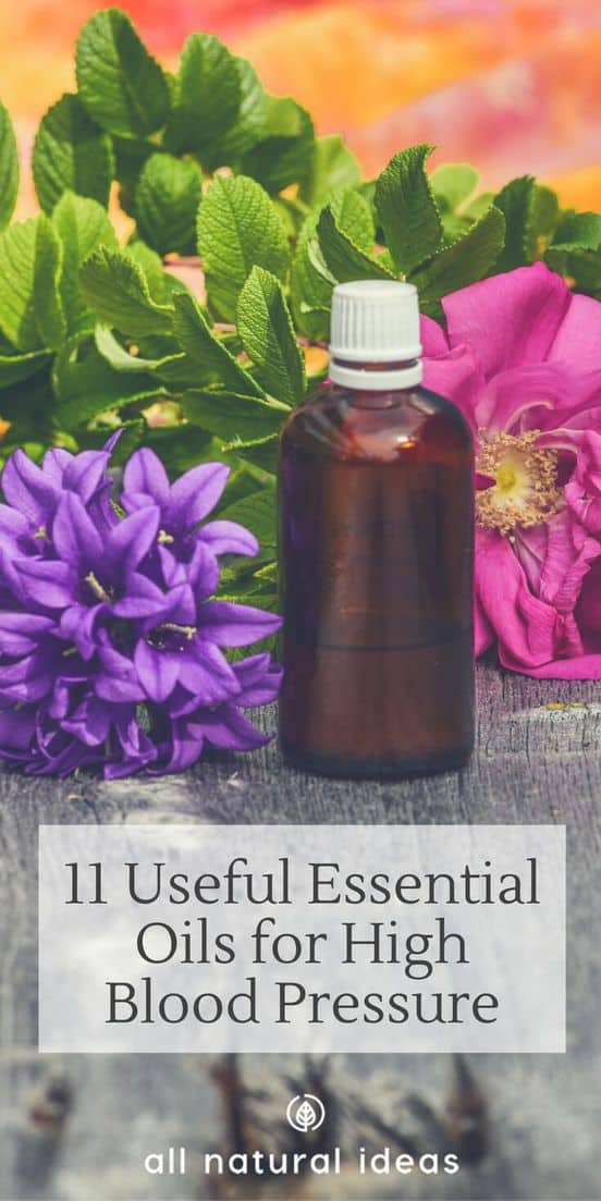 Blood pressure lowering drugs come with many side effects so people often look for alternative treatments. Here's 11 useful essential oils for high blood pressure. #alternativemedicine #essentialoils #allnatural | allnaturalideas.com