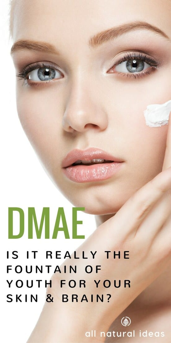 DMAE is a natural substance that may contain anti-aging actions for both skin and cognition. But is it safe? And is there research to prove it works?#DMAE #antiaging #allnatural | allnaturalideas.com