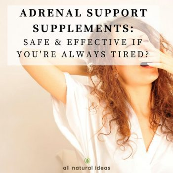 Adrenal Support Supplements: Effective for Fatigue?