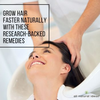 Whether it's from stress, hormones or genetics, thinning hair is a bummer. Hair growth prescriptions can produce nasty side effects. But there are ways to grow hair faster naturally.