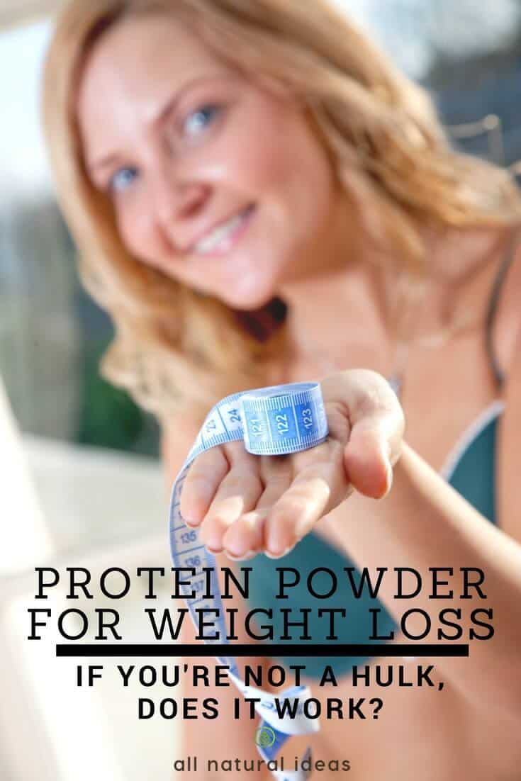Does supplementing with protein powder for weight loss work? Or is it just for bodybuilding hulks who want to have biceps the size of basketballs? And if it does help you lose weight, what's the best protein powder?