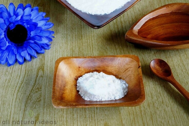 sodium bicarbonate in dish