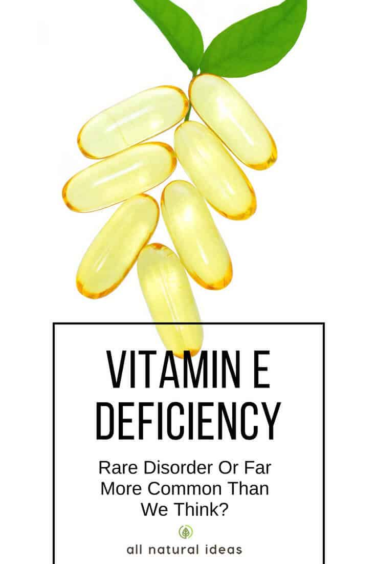 When you get sick, do you stay sick? Is your eyesight getting worse? And do you feel weaker, in general? If so, you could have a vitamin E deficiency. Not as well-known as other vitamins, perhaps it's time to get to know this major antioxidant….