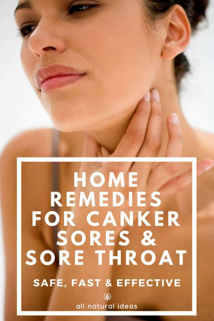 Do you have a nagging, unsightly sore on the inside of your mouth that's making it difficult to enjoy your food or even talk? If so, check out these home remedies for canker sores and sore throat.