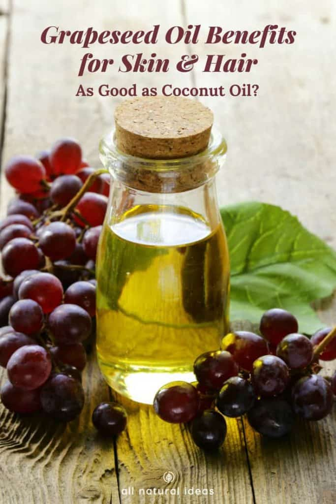 Like coconut and olive, grapeseed oil has become popular as of late for its positive effects on health. But are there also grapeseed oil benefits for skin and hair, too?